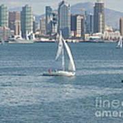 Sailing San Diego Art Print