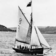 Sailing Ship Cutter Art Print