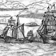 Sailing Ships Art Print