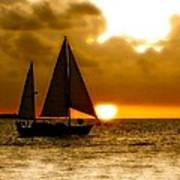 Sailing The Keys Art Print