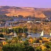 Sailing The Nile Art Print