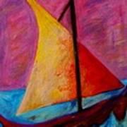 Sailing The Seas Art Print