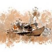 Sailing Time Art Print