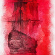 Sailor Take Warning Photo Art 01 Art Print