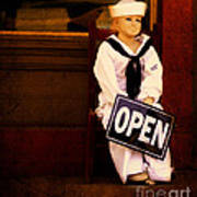 Sailors Welcome Cropped Art Print
