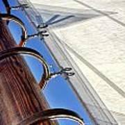 Sails Up Art Print