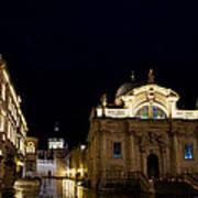 Saint Blaise Church - Dubrovnik Art Print