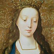 Saint Catherine Art Print