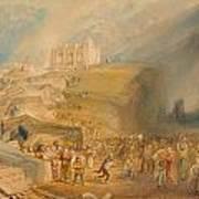 Saint Catherine's Hill Art Print