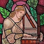 Saint Cecilia Art Print by Gilroy Stained Glass