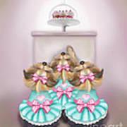 Saint Cupcakes Art Print
