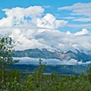 Saint Elias Mountains In Kluane National Park-yk  Art Print