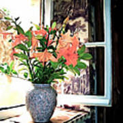 Saint Emilion Window Art Print