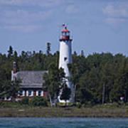 Saint Helena Lighthouse 2 Art Print