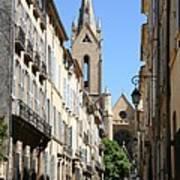Saint Jean De Malte - Aix En Provence Art Print