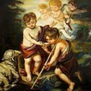 Saint John Baptist Art Print