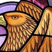 Saint John Eagle  Art Print