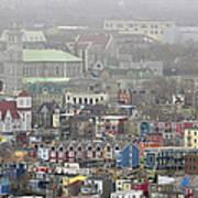 Saint John's. Newfoundland. Canada. Art Print