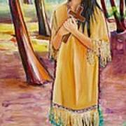 Saint Kateri Tekakwitha Version One Art Print
