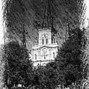 Saint Louis Cathedral Art Print