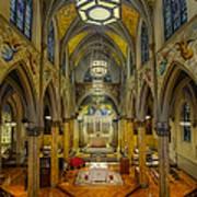 Saint Malachy The Actors Chapel  Art Print