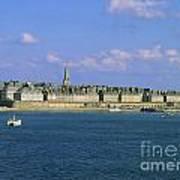 Saint Malo. Ille Et Vilaine. Brittany. Bretagne. France. Europe Print by Bernard Jaubert