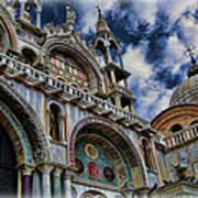 Saint Mark's Basilica Art Print