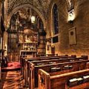 Saint Marks Episcopal Cathedral Art Print