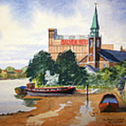 Saint Mary's Church Battersea London Art Print