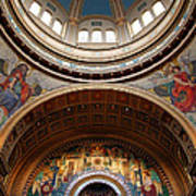 Saint Matthew's Cathedral Art Print