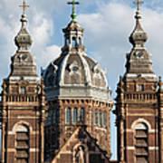 Saint Nicholas Church In Amsterdam Art Print