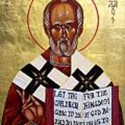 Saint Nicholas The Wonder Worker Art Print