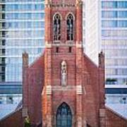 Saint Patrick's Church San Francisco Art Print