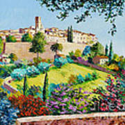 Saint Paul De Vence Art Print