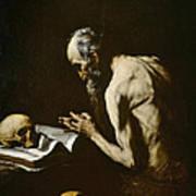 Saint Paul The Hermit Art Print