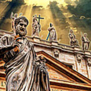 Saint Pietro Art Print