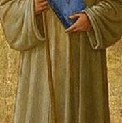 Saint Romuald Art Print by Fra Angelico