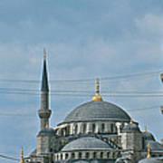 Saint Sophia's In Istanbul-turkey Art Print