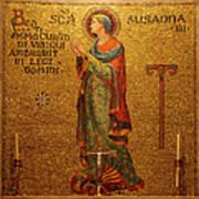 Saint Susanna Altar Art Print