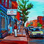 Saint Viateur Bagel Shop Art Print