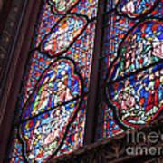 Sainte-chapelle Window Art Print