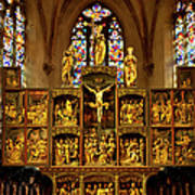 Sainte Croix - Kaysersberg France Art Print