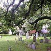Salem Cemetery Art Print