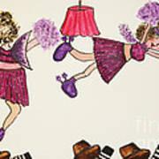 Sales Fairy Dancer 5 Art Print