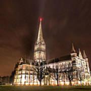 Salisbury Cathedral Art Print