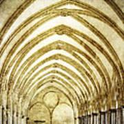 Salisbury Cathedral Cloisters 2 Art Print