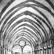 Salisbury Cathedral Cloisters Art Print