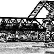 Salmon Bay Bridge Art Print by Benjamin Yeager