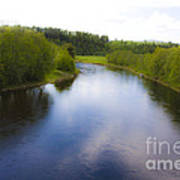 Salmon Catchers Club - Bjora River Norway. Doctor Andrzej Goszcz. Art Print