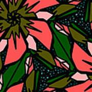 Salmon-pink Art Print